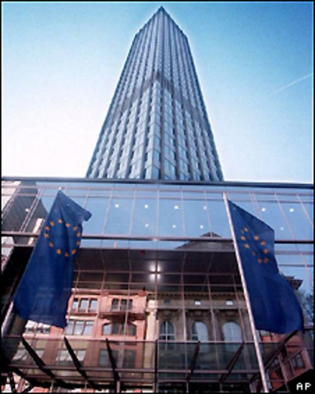 Edificio del Banco Central Europeo