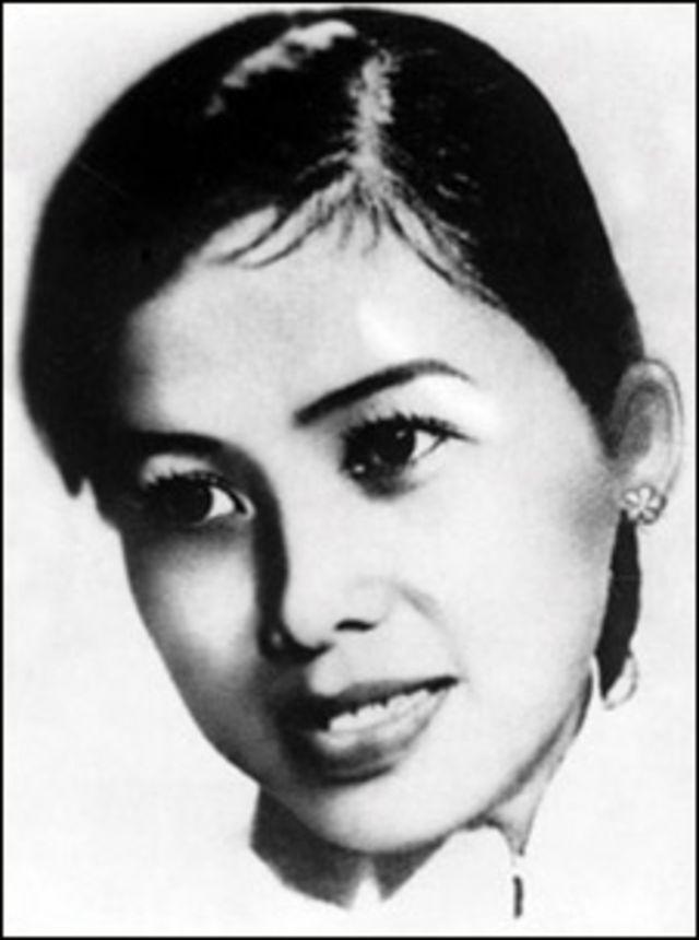 Bà Trần Kim Anh, vợ đầu của ông Võ Văn Kiệt (ảnh tư liệu từ cuốn Ấn tượng Võ Văn Kiệt)