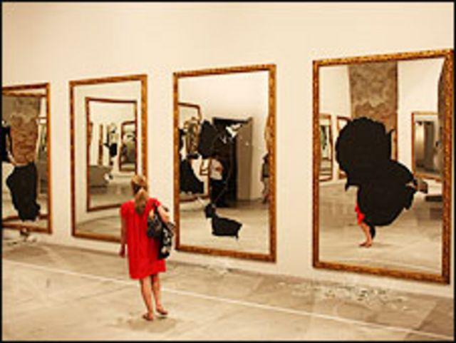 """Twenty-two less two"" de Michelangelo Pistoletto, 2009"