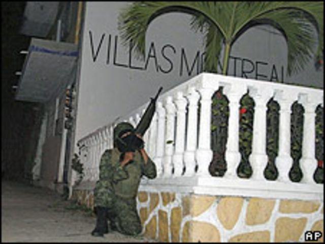 Tiroteo en Acapulco.