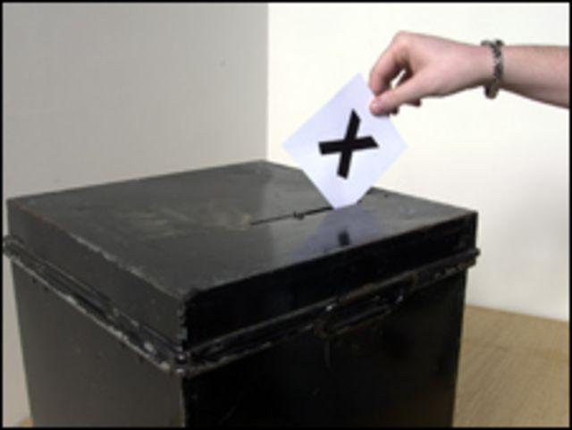Urna para votación