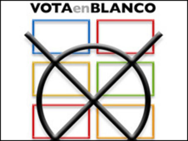 Votar en blanco