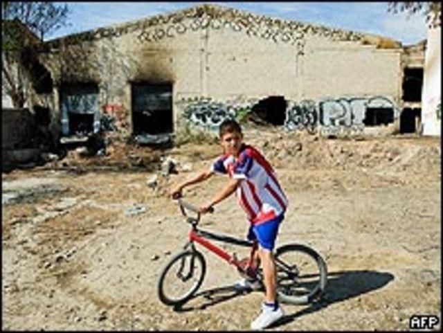 Almacén donde pudo originarse un incendio que mató a niños en Sonora, México.