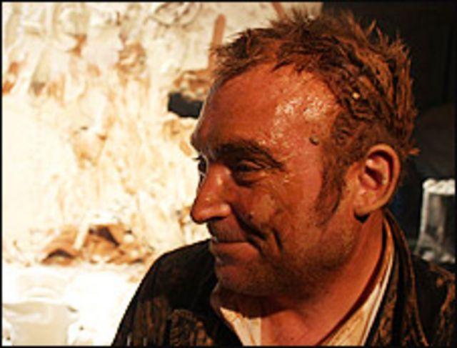 Miquel Barceló  Foto: Manuel Toledo, BBC Mundo