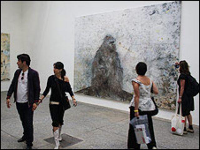 """La solitude organisative"", 2008, Miquel Barceló  Foto: Manuel Toledo, BBC Mundo"