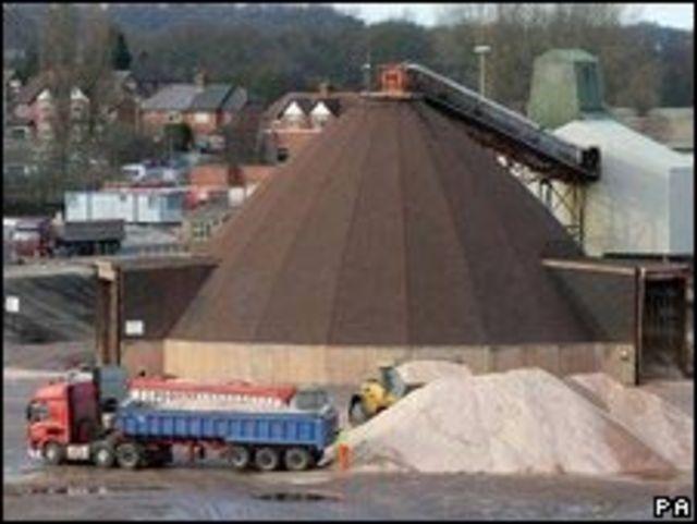 Mina de sal en el Reino Unido