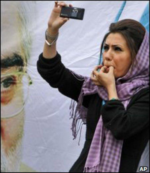 Mujer en Irán