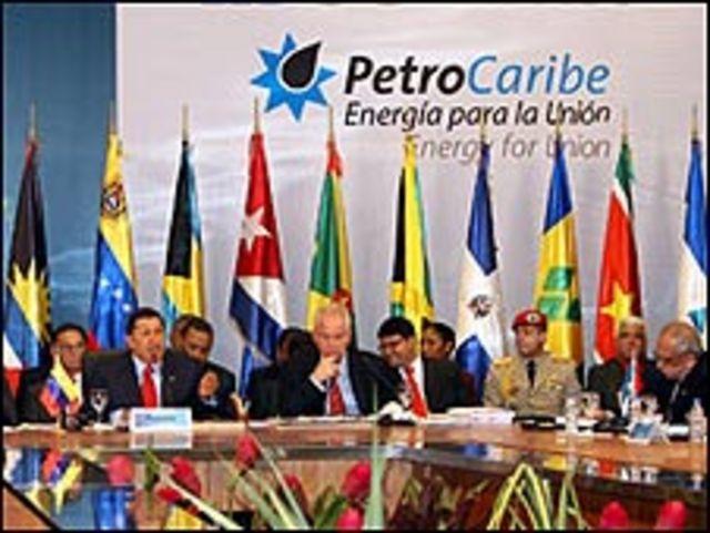 Reunión de Petrocaribe (Foto de archivo) Foto: PDVSA