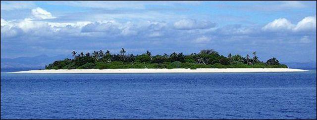 Isla cerca de Fiji