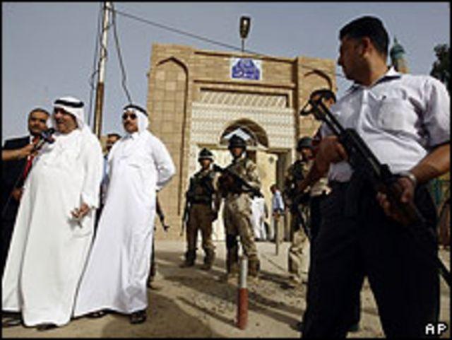 Atentado en una mezquita de Bagdad. 12 de junio de 2009.