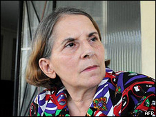 Hilda Molina el 12 de junio en La Habana.