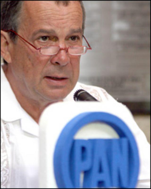 Mauricio Fernández, candidato PAN (Cortesía Revista Índigo)
