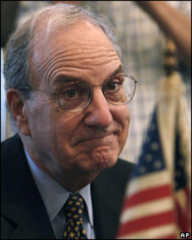 George Mitchell, enviado de Obama a Medio Oriente