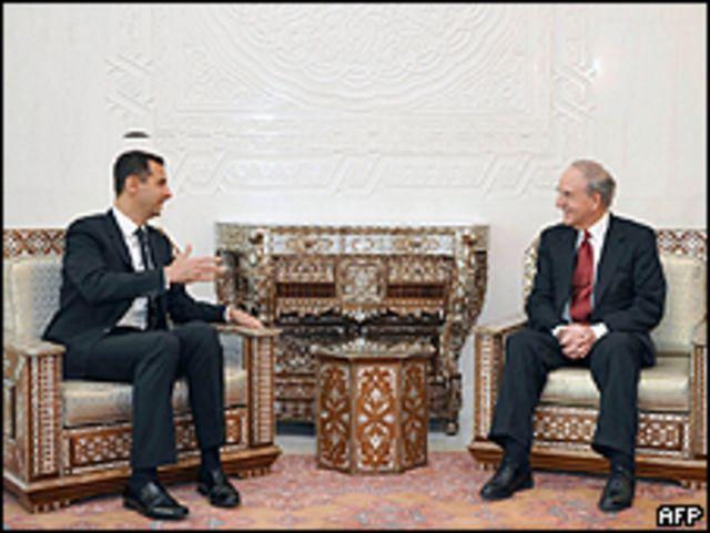 Assad y Mitchell reunidos en DTamasco