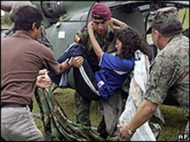 Sobreviviente del operativo contra las FARC.