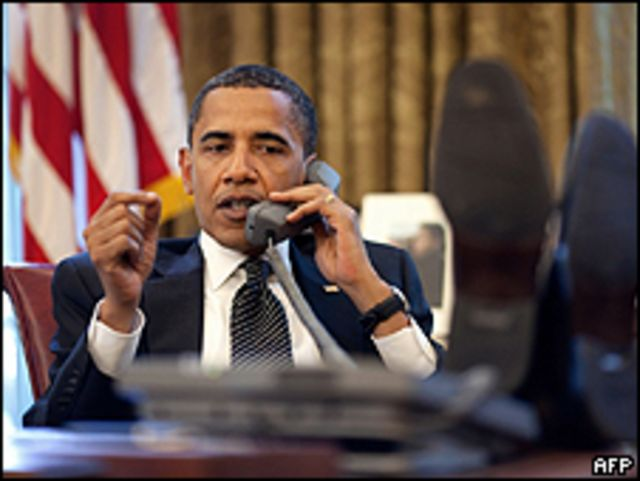 Barack Obama habla con Netanyahu por teléfono