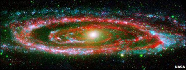 Galaxia de Andrómeda (Foto: NASA)