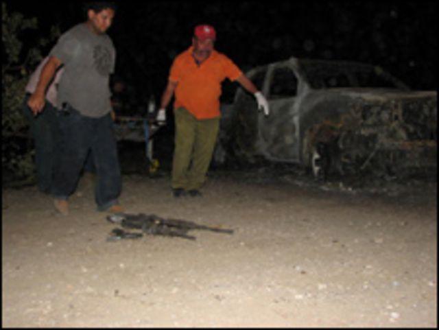 Imagen de una matanza en Zacapa, Guatemala