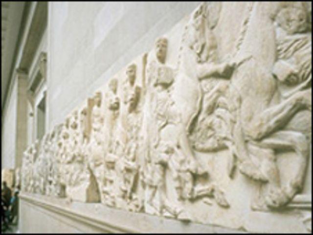 Los mármoles del Partenón