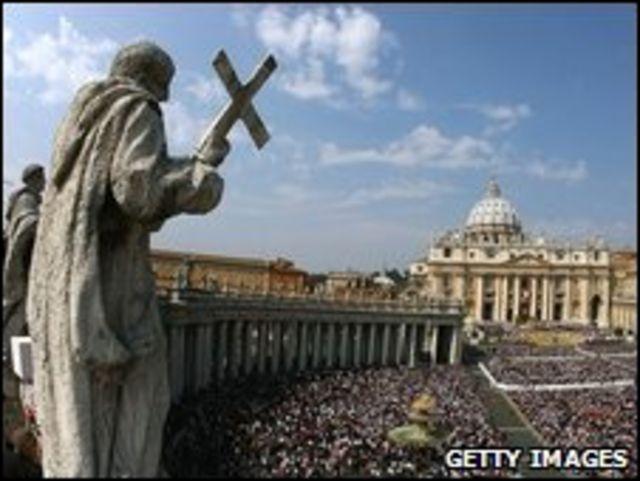 Imagen de la Plaza de San Pedro en el Vaticano (Foto de archivo).