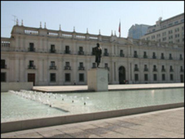 Palacio presidencial La Moneda, Chile