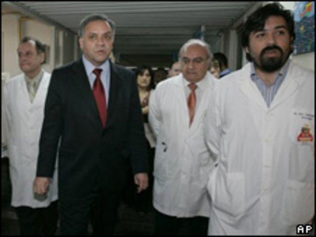Álvaro Erazo, ministro de Salud de Chile