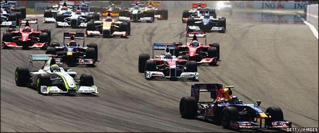 Carrera de Fórmula Uno