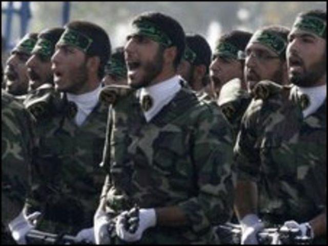 Voluntarios paramilitares iraníes (Foto de archivo).
