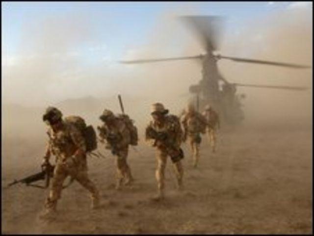 وحدات من قوات بلاك ووتش في افغانستان