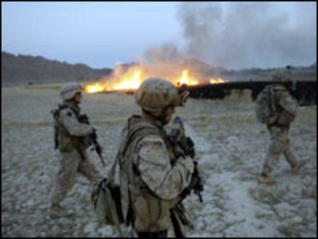 قوات من الناتو في هلمند