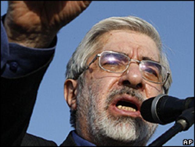 Mir Hossein Mousavi. Foto de archivo: 08-06-09