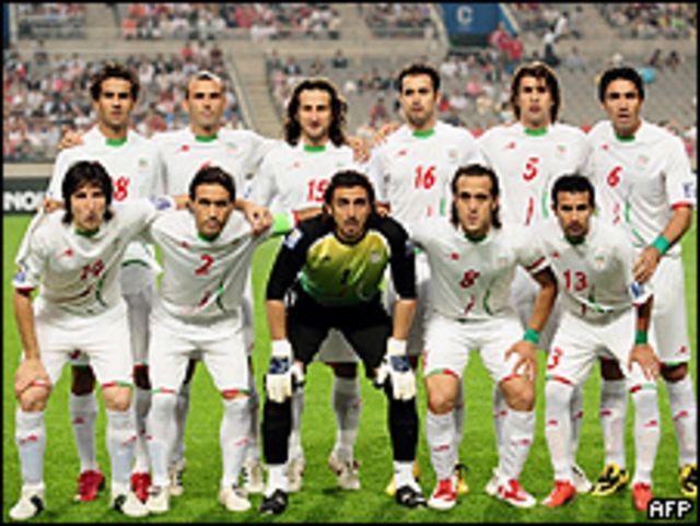 Selección de Irán. Foto de archivo: 17-06-09
