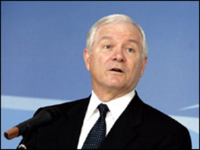 وزير الدفاع الامريكي روبرت جيتس