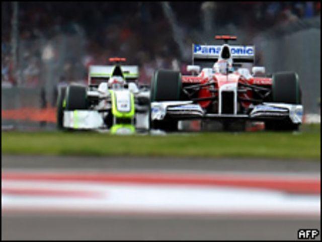 Carrera de Fórmula Uno.