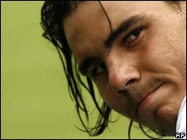 لاعب التنس الأسباني رافاييل نادال