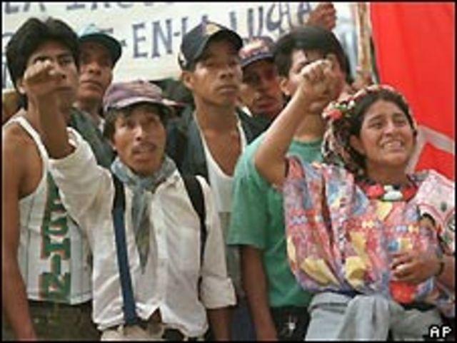 Indígenos de Guatemala.