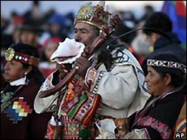 Indígenas aymaras