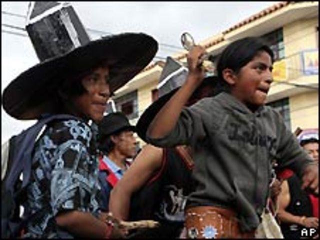 Indígenas ecuatorianos