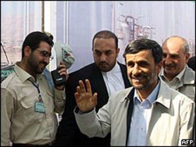 الرئيس الإيراني محمد أحمدي نجاد