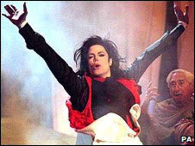 Michael Jackson en los Brit Awards