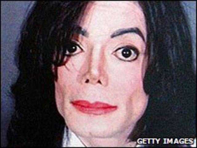 Rostro de Michael Jackson