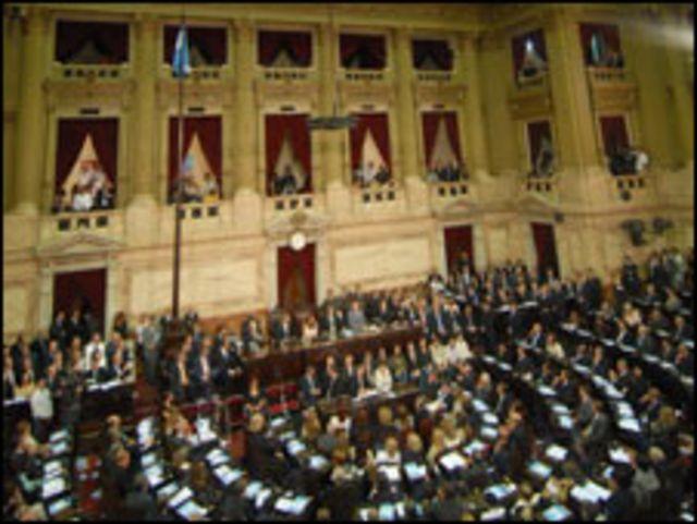 البرلمان الارجنتيني