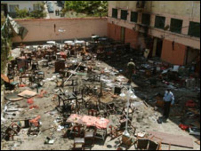 تفجيرات الدار البيضاء