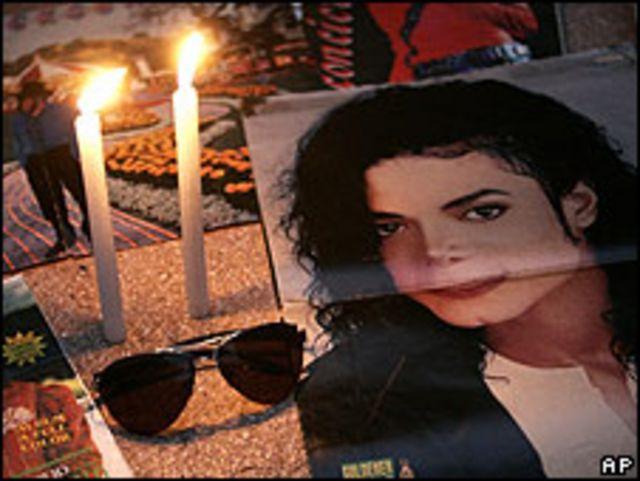 Vigilia por Michael Jackson en Lima, Perú.