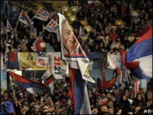 Acto político del candidato uruguayo José Mujica