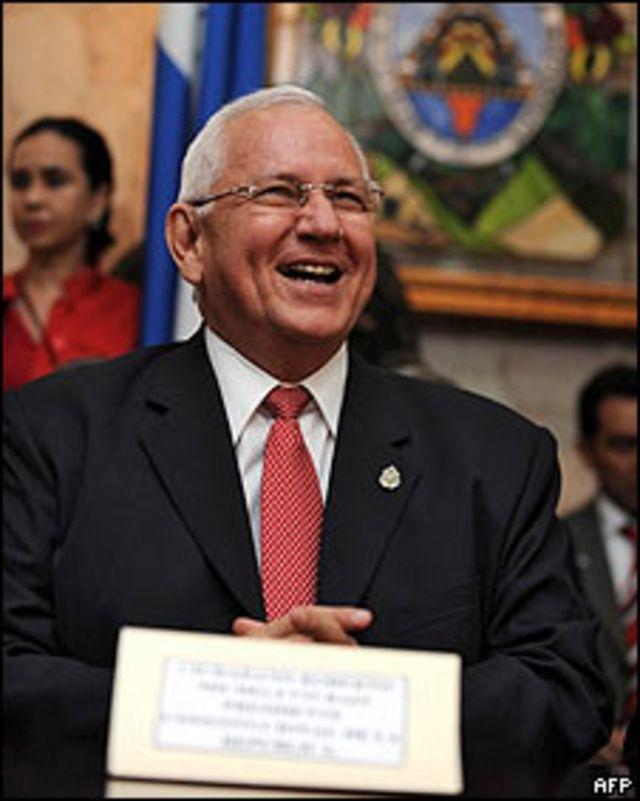 Roberto Micheletti, nuevo presidente de Honduras.