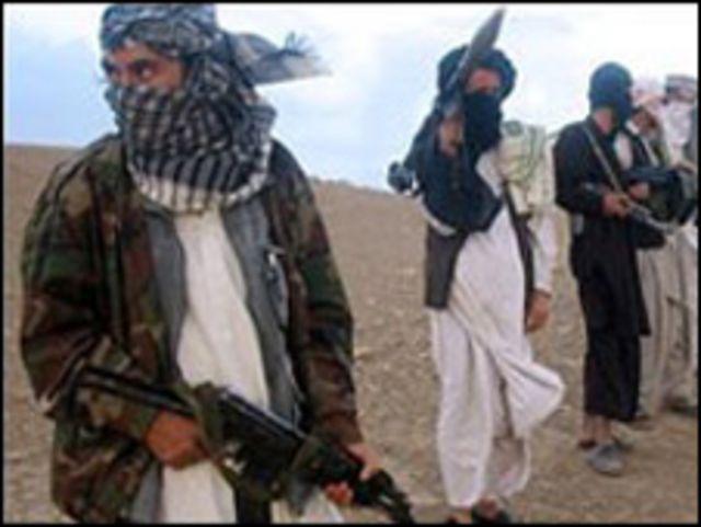 مسلحون من أفغانستان
