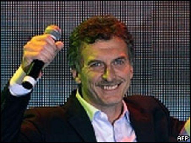 Mauricio Marcri del partido Unión-PRO