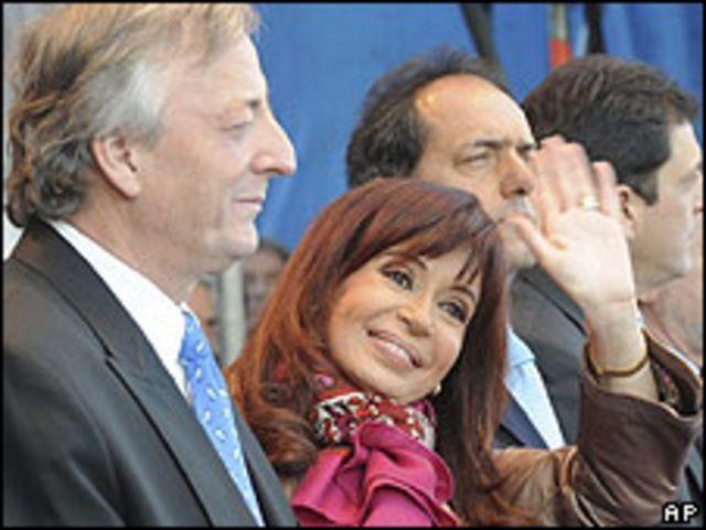 الرئيسة الارجنتينية كريستينا كيرتشنر