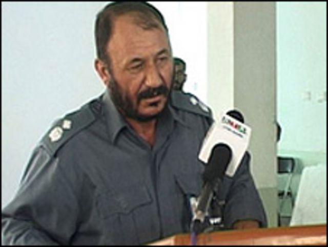 مطيع الله، قائد شرطة قندهار